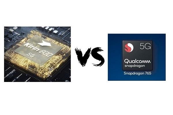 So sánh bộ đôi SoC tầm trung Huawei Kirin 820 5G và Qualcomm Snapdragon 765G