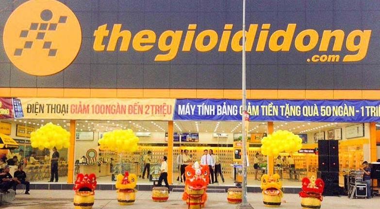 Thế Giới Di Động đề nghị giảm 50% giá thuê mặt bằng hơn 3.000 cửa hàng trong một năm