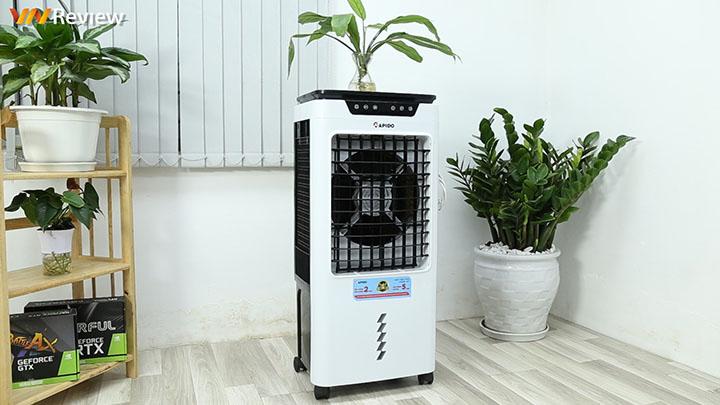 Đánh giá quạt điều hòa không khí Rapido TURBO 6000-D: hỗ trợ cả lọc bụi, mùi và diệt khuẩn