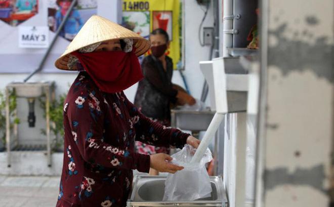 Covid-19: Máy ATM gạo ở Việt Nam lên báo nước ngoài