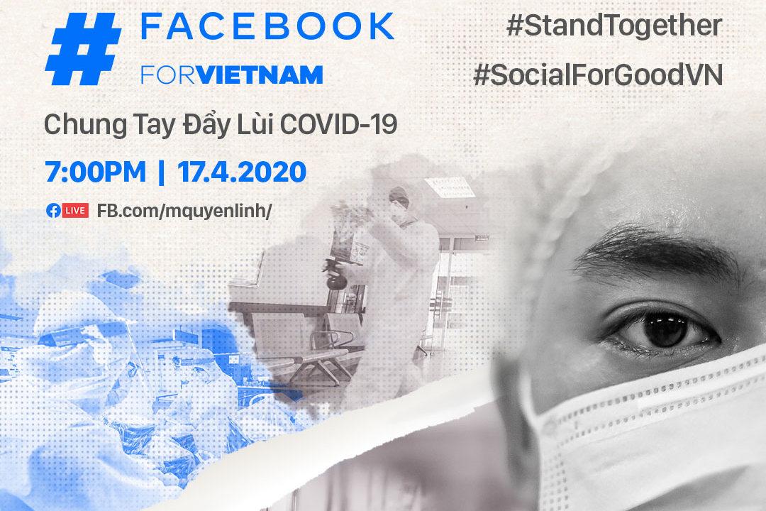 Facebook cùng Hội Chữ thập đỏ và hơn 60 nghệ sĩ Việt Nam ra mắt chương trình Livestream về Covid-19