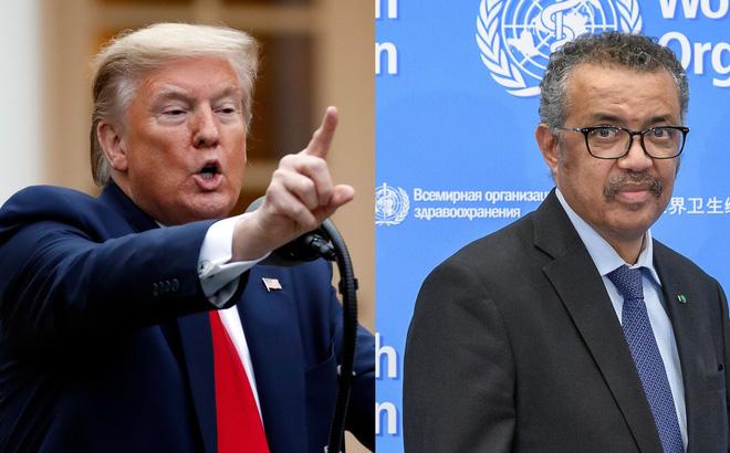 Cắt tài trợ cho WHO: Tổng thống Trump hứng chỉ trích