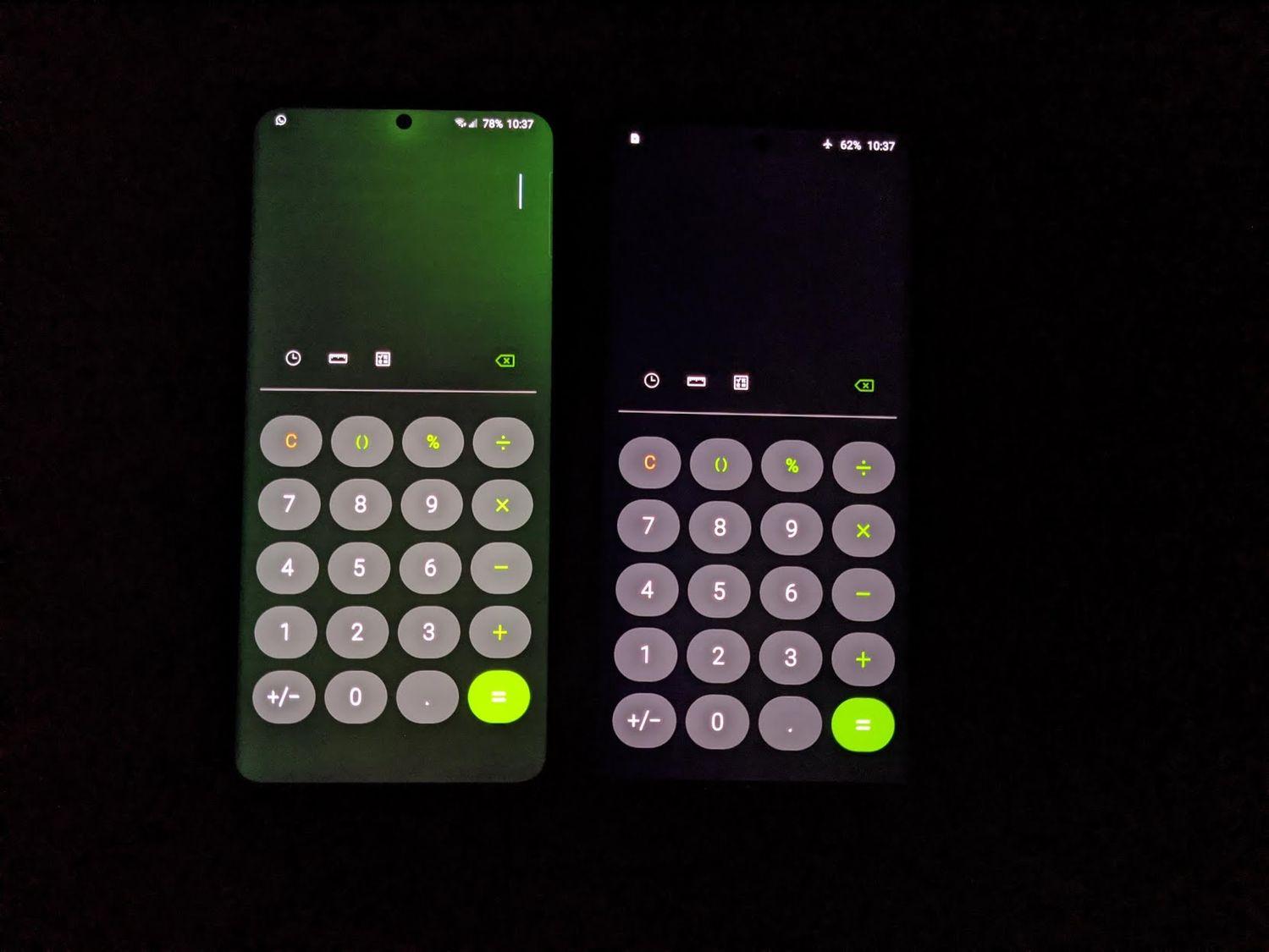 Galaxy S20 Ultra bản Exynos 990 lại vừa dính lỗi màn hình ngả xanh, có thể do bản cập nhật phần mềm