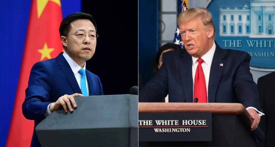 """Ông Trump nghi Covid-19 """"rò rỉ từ phòng thí nghiệm"""" Vũ Hán, Trung Quốc dẫn lời """"WHO nói không có bằng chứng"""""""
