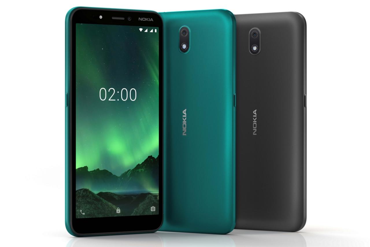"""Nokia tiếp tục tung ra smartphone C2 cho người mới chuyển lên từ điện thoại """"cục gạch"""" tại Việt Nam, giá 1,69 triệu đồng"""