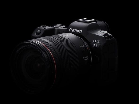 Canon tiết lộ thông số quay video của EOS R5, RAW 8K 30fps & 4K 120fps, 10-bit H.265 và AF