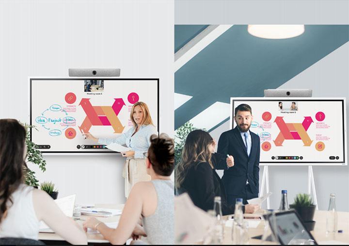 """Samsung tung bộ """"combo"""" phục vụ họp online và làm việc từ xa"""