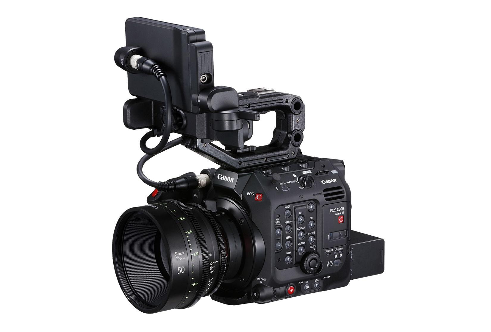 Canon ra mắt EOS C300 Mark III Cinema: máy quay chuyên nghiệp 4K 120p Super 35mm, dynamic range 16 stop, giá 285 triệu đồng