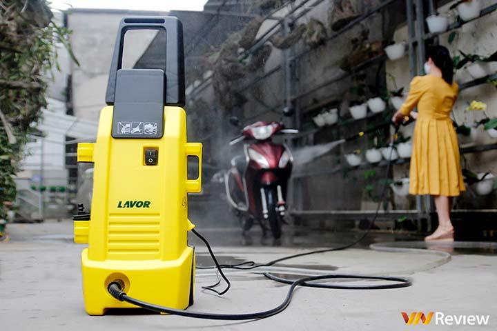 Trải nghiệm máy phun áp lực nước Lavor Ninja-Plus130: rửa xe ở nhà sạch như ra tiệm