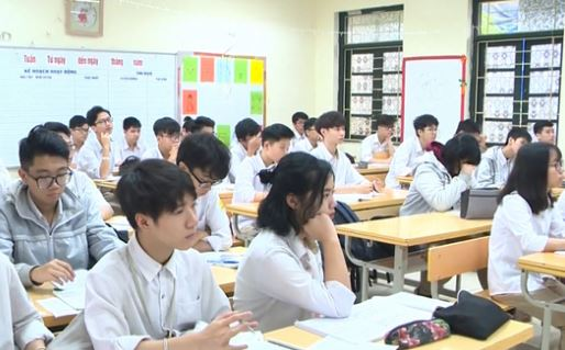 Lịch đi học lại của học sinh Hà Nội