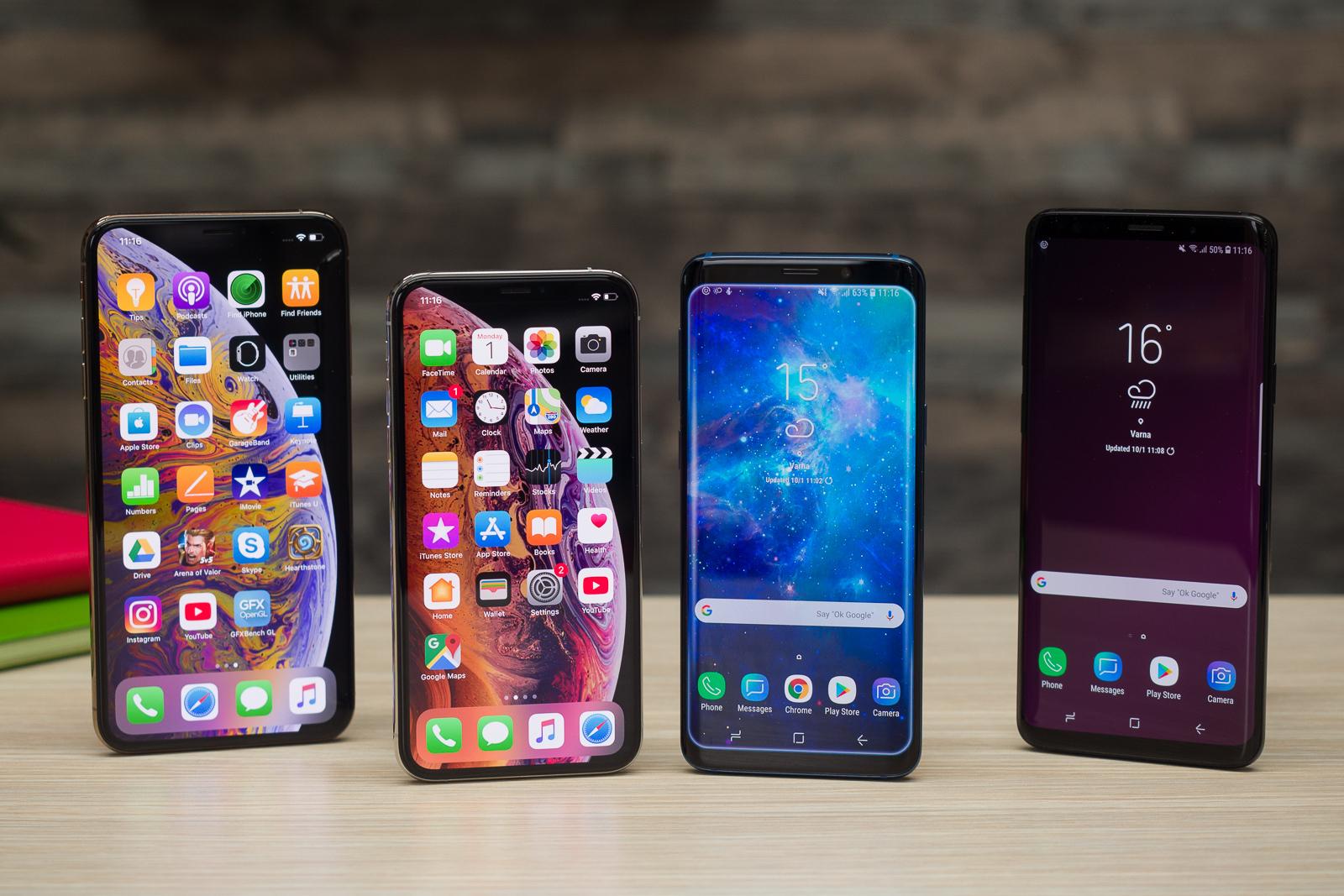 Tại sao tất cả các smartphone đều trông giống nhau?