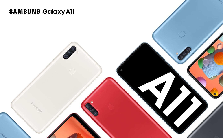 Samsung Galaxy A11 ra mắt ở Việt Nam: giá 3,69 triệu đồng có sạc nhanh, camera góc siêu rộng