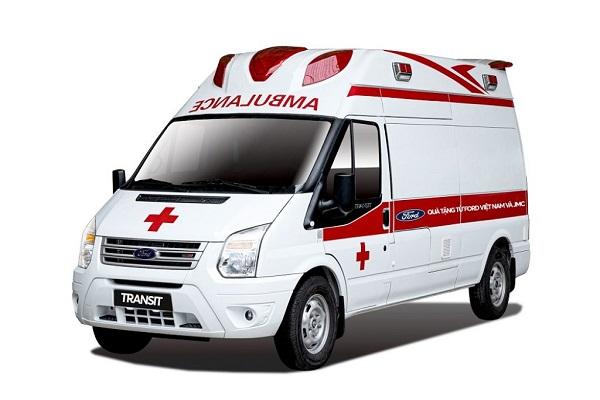 Ford Việt Nam tặng xe cứu thương áp lực âm giá gần 2 tỷ đồng