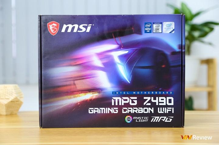 """""""Đập hộp"""" MSI MPG Z490 Gaming Carbon Wifi: Bo mạch chủ cận cao cấp cực """"ngầu"""" cho game thủ"""