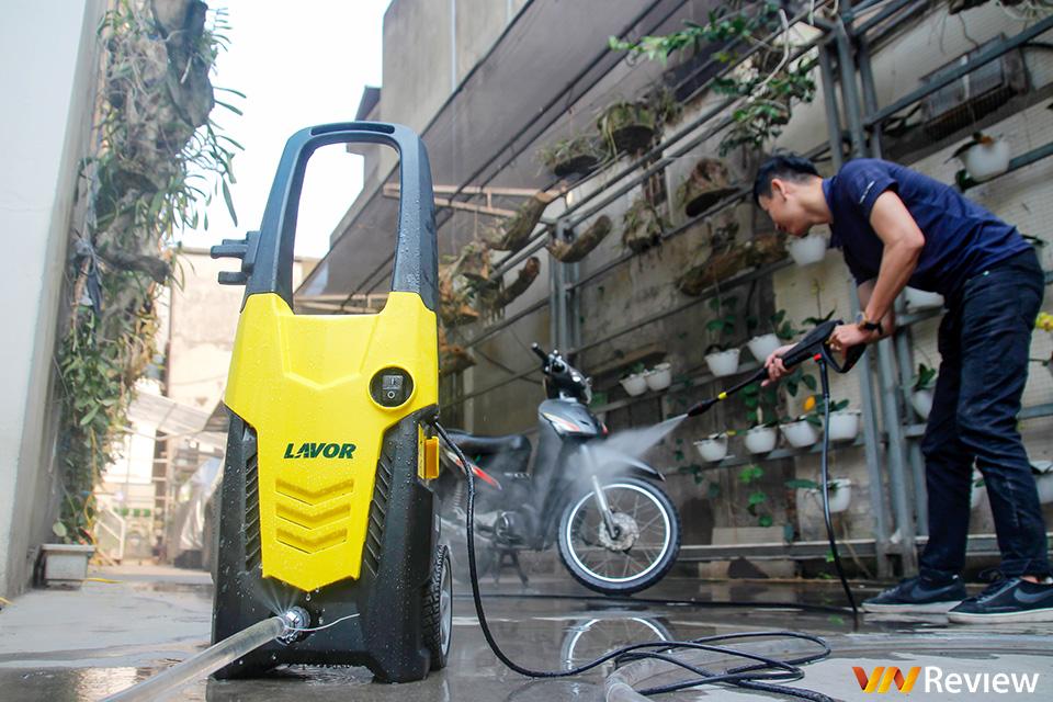 Đánh giá máy phun áp lực nước Lavor IKON140: Công suất lớn đa dạng mục đích sử dụng