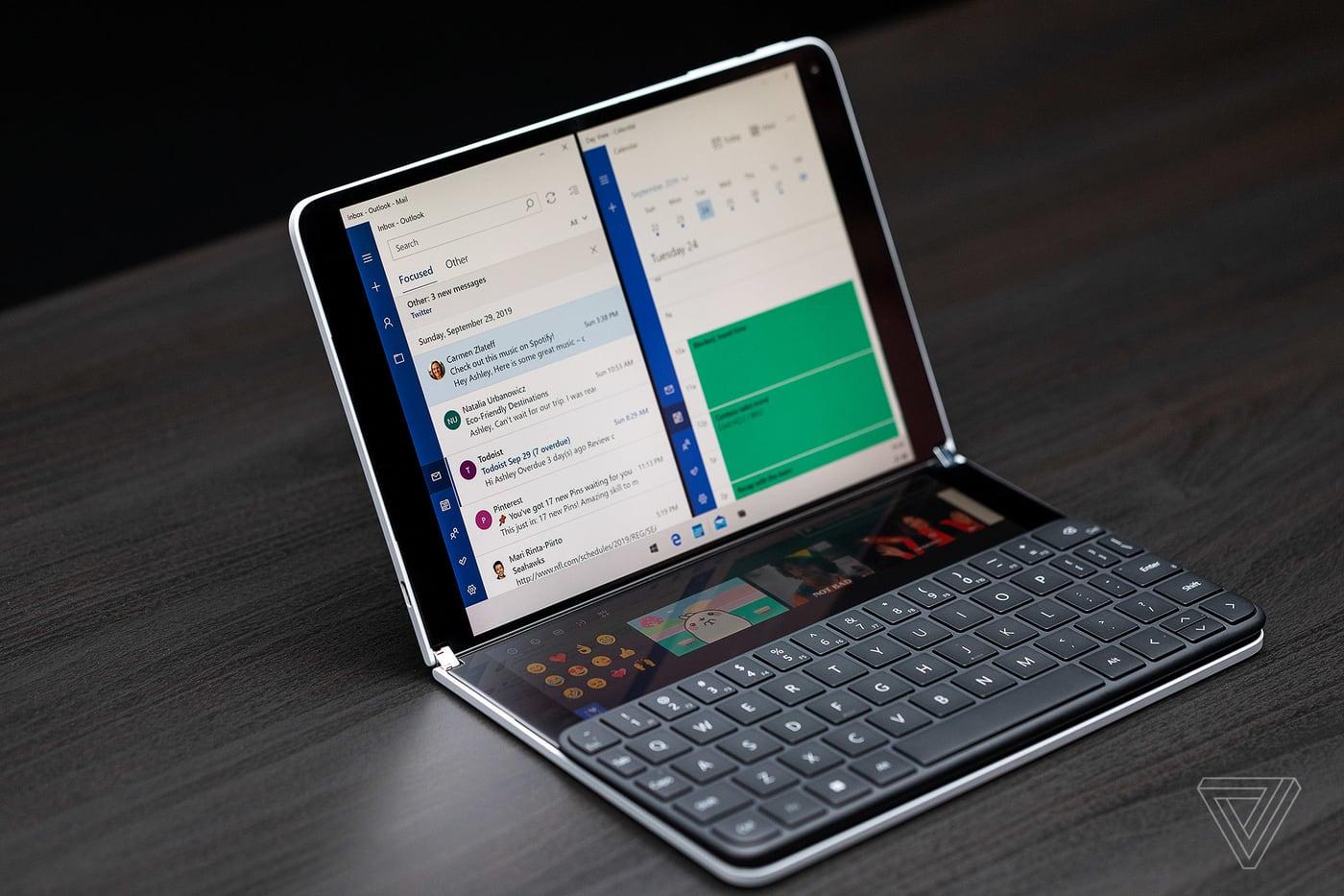 """Microsoft sẽ tung ra hệ điều hành Windows 10X cho laptop truyền thống """"một màn hình"""" trước"""
