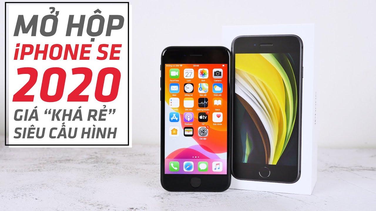 Mở Hộp iPhone SE 2020 - Chiếc iPhone Giá rẻ nhất Lịch sử của APPLE