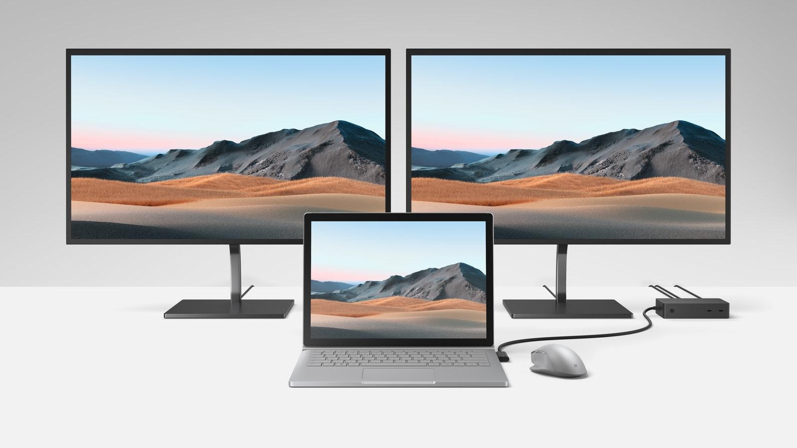 Microsoft Surface Book 3 ra mắt: thêm tuỳ chọn card đồ hoạ NVIDIA, tối đa 32GB RAM, ổ SSD nhanh hơn