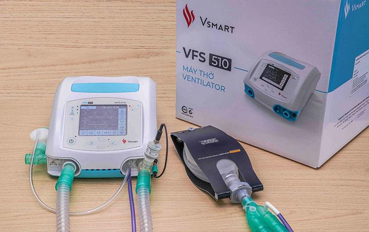 """VinGroup tặng 2.400 máy thở """"made in Việt Nam"""" cho Nga và Ucraina"""