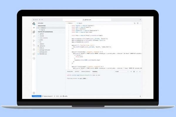 """GitHub Codespaces cho """"gõ code"""" ngay trên trình duyệt, không cần cài đặt bất cứ thứ gì"""