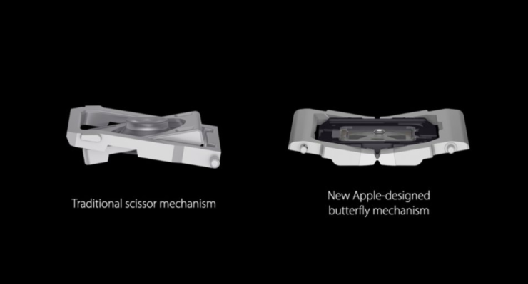 Triều đại bàn phím cánh bướm tồi tệ trên MacBook của Apple cuối cùng cũng đã kết thúc