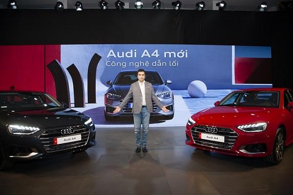 Audi ra mắt 3 mẫu xe A4, Q3 và Q7 mới tại Việt Nam