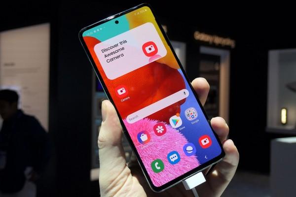 Galaxy A51 là smartphone Samsung bán chạy nhất thế giới quý 1/2020