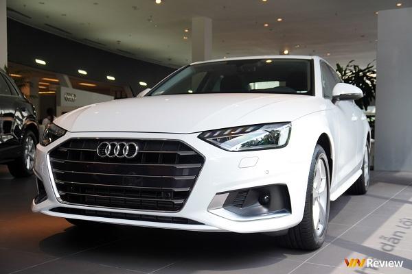 Soi chi tiết Audi A4 2020 cạnh tranh trực tiếp BMW 3-Series