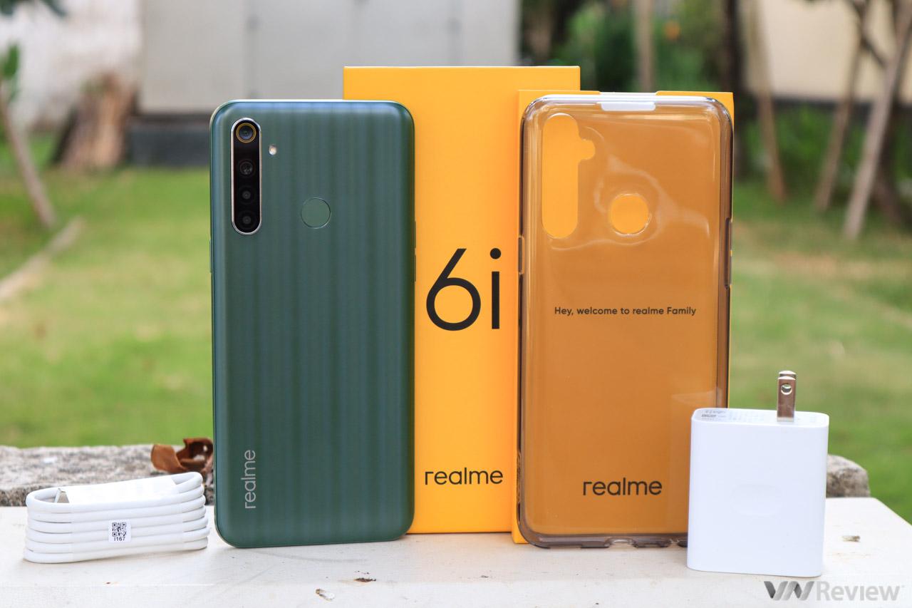 Trên tay Realme 6i: thấp hơn Realme 6 một triệu đồng, phải đánh đổi những gì?
