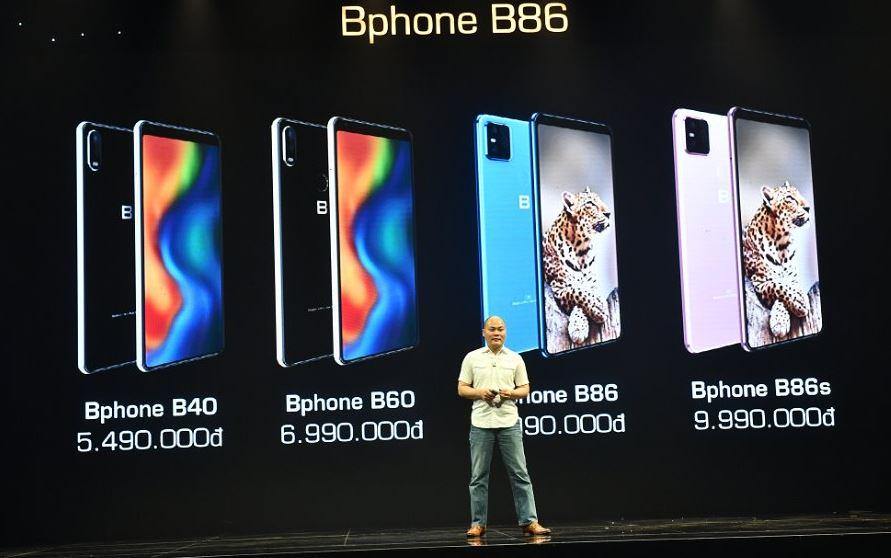 Giá Bphone B86 và ngày bán ra 17/5/2020