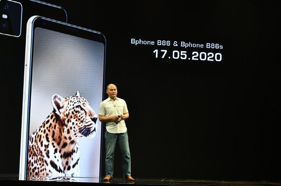 Bphone Series - smartphone đầu tiên không phím bấm, giá chỉ từ 5,49 triệu đồng