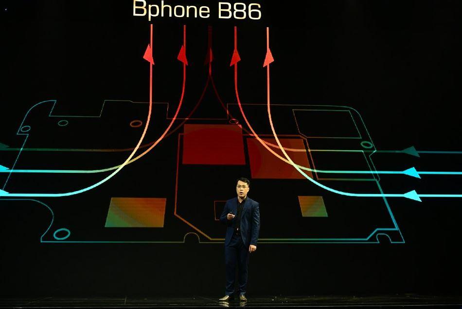 Công nghệ tản nhiệt trên Bphone B86 có bước tiến mới