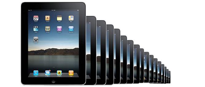 """""""iPad cỡ nhỏ sẽ ra mắt cuối năm nay"""""""