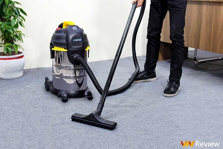 Trải nghiệm Lavor LVC30XS: máy hút bụi 2 trong 1, hút cả khô lẫn ướt