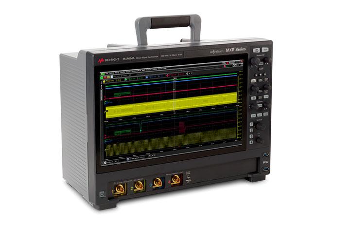 Keysight Technologies ra mắt máy hiện sóng tín hiệu hỗn hợp Infiniium MXR Series mới