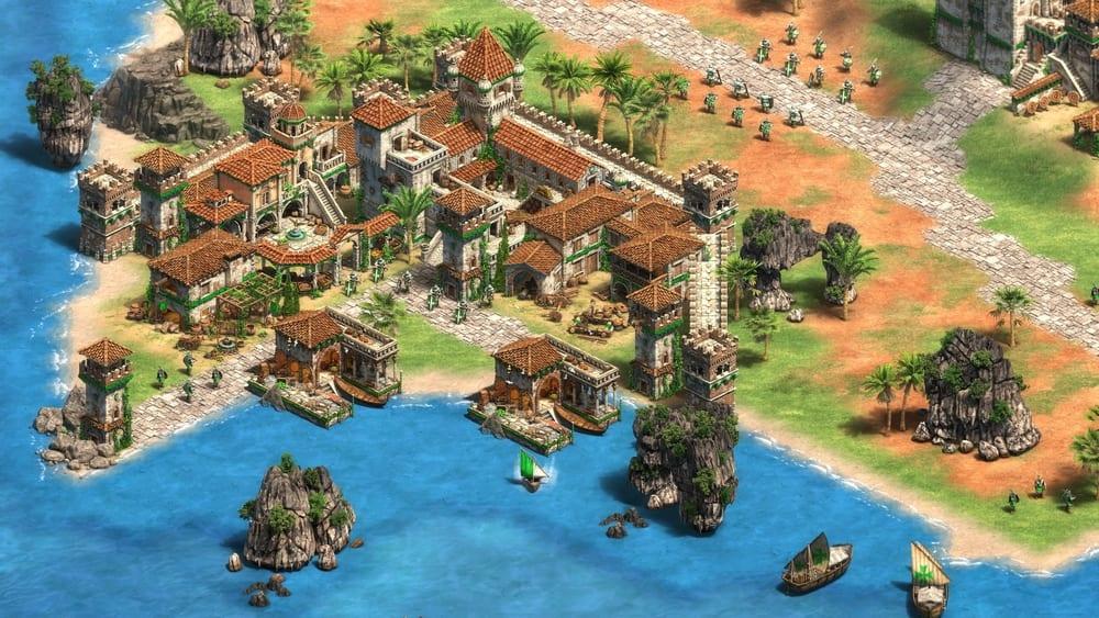 Age of Empires 2 đang