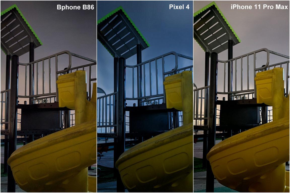 Bất ngờ tính năng chụp đêm sNight trên Bphone B86: ngang ngửa iPhone 11 Pro Max và Google Pixel 4