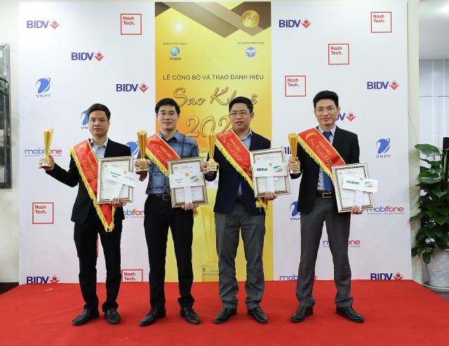 Viettel giữ vững ngôi vị dẫn đầu giải thưởng Sao Khuê với 21 giải