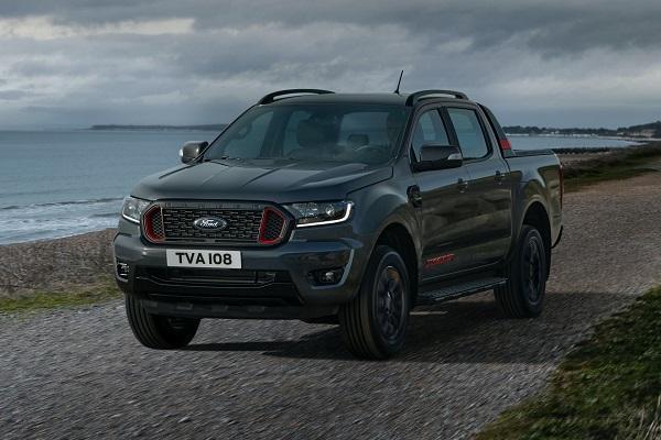 """Ford Ranger phiên bản """"Sấm sét"""" xuất hiện tại châu Âu"""
