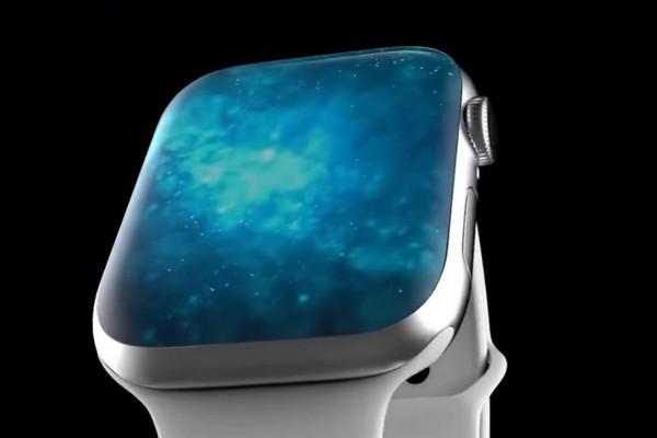 Ngắm ý tưởng smartwatch Apple Watch Series 6 không viền màn hình cực chất