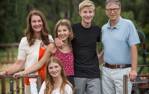 Gia đình tỉ phú Bill Gates