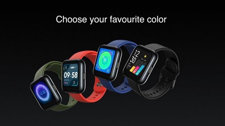 Realme Watch ra mắt: màn hình cảm ứng 1.4 inch, thời lượng pin 9 ngày