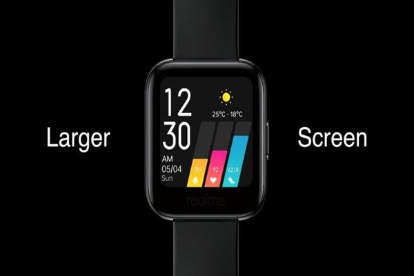 """Realme Watch ra mắt: kiểu dáng """"hao hao"""" Apple Watch, thời lượng pin 9 ngày, giá 1,2 triệu đồng"""