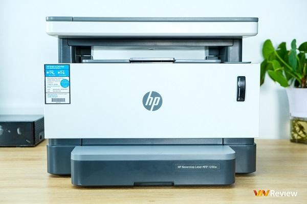 Trải nghiệm máy in HP Laser Neverstop 1200w: Đổ mực chưa bao giờ dễ dàng đến vậy