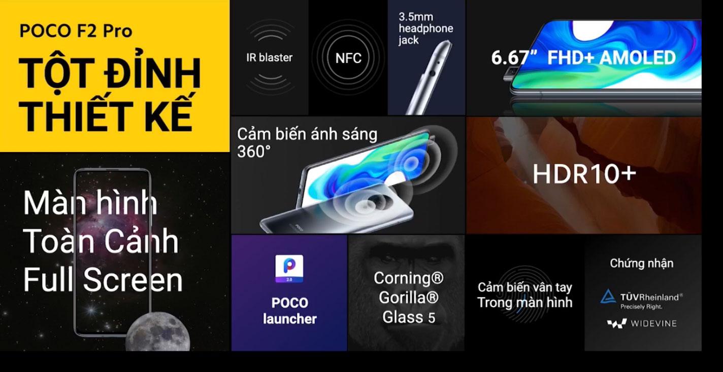Poco F2 Pro chính thức ra mắt Việt Nam, giá từ 12,49 triệu đồng