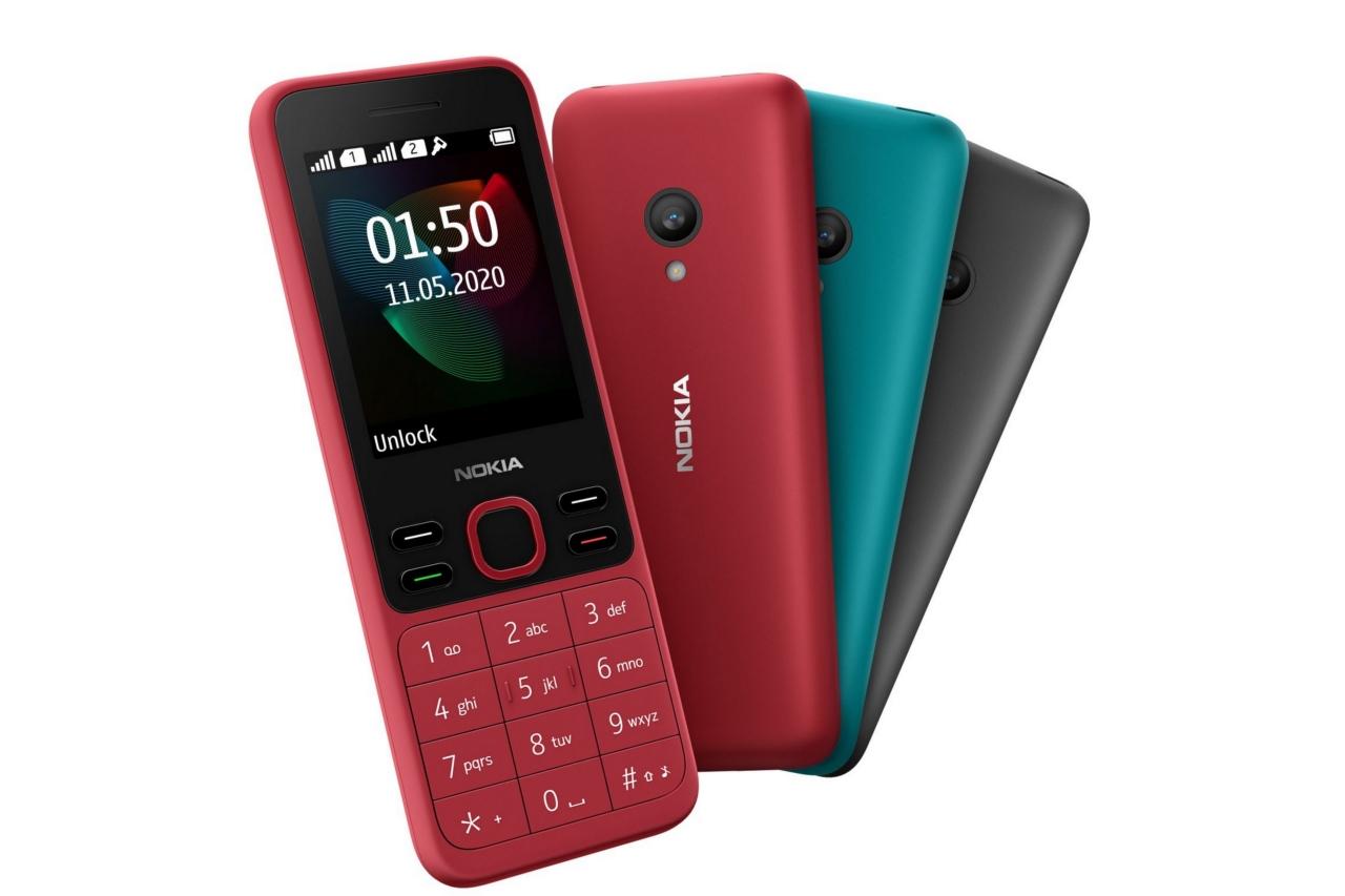 """""""Cục gạch"""" Nokia 150 phiên bản 2020 ra mắt: vẫn chỉ hỗ trợ mạng 2G, giá thấp hơn đời trước 60 nghìn đồng"""