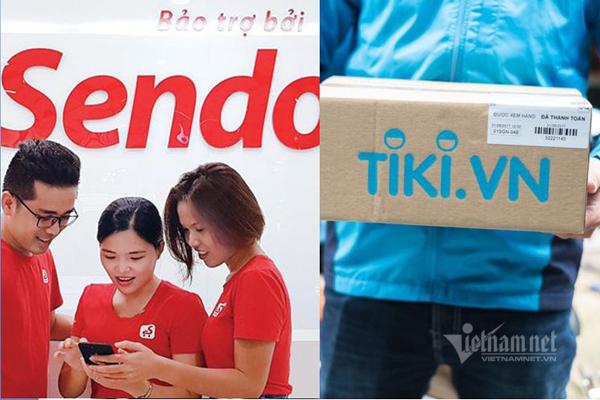 Ai đã 'đổ' tiền vào Sendo và Tiki?