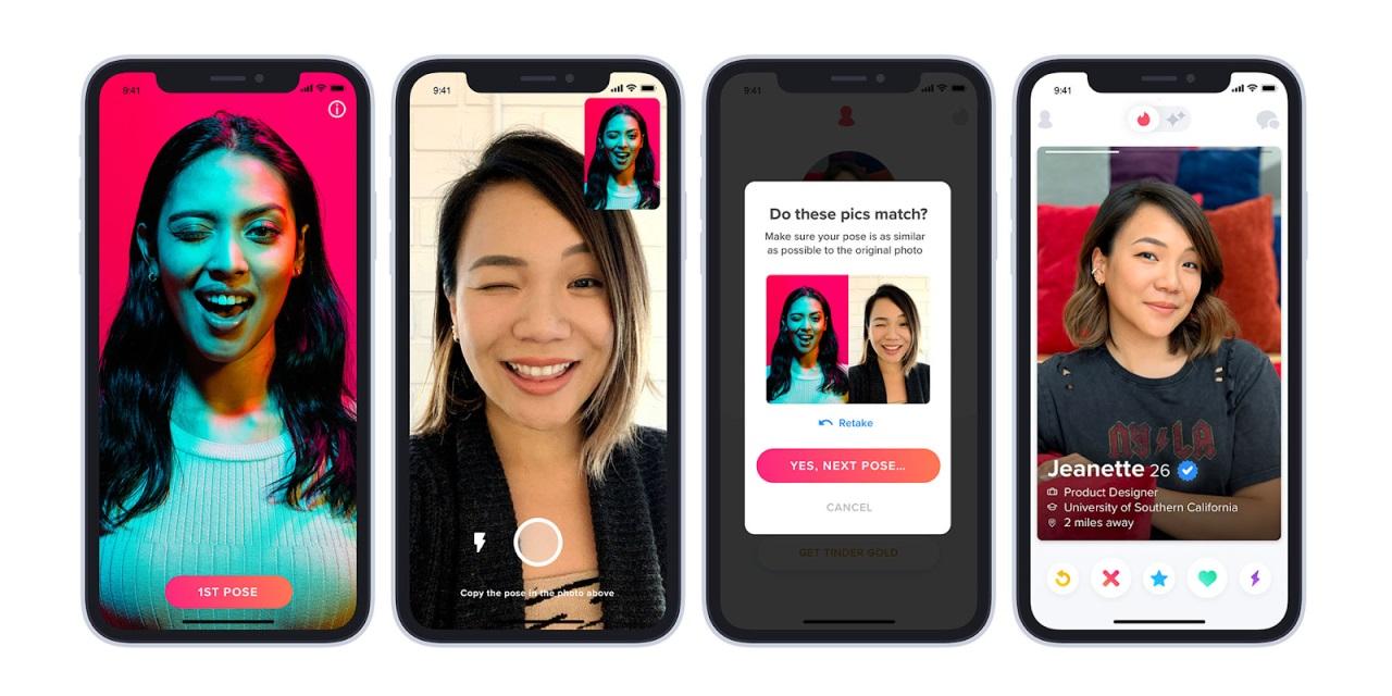 App hẹn hò Tinder ra mắt tính năng