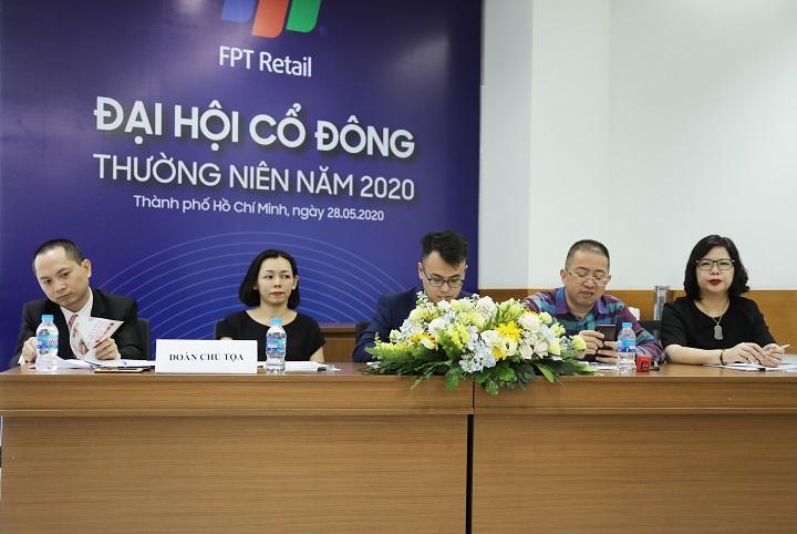 FPT Retail họp đại hội cổ đông, sẵn sàng kinh doanh các sản phẩm mới