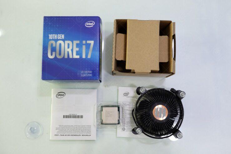 Intel nâng cấp bộ tản nhiệt tặng kèm bên trong hộp những CPU thế hệ 10 Comet Lake